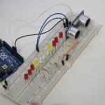 Indicador de distância através de LEDs